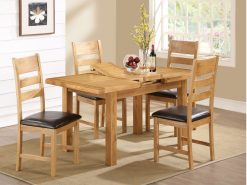 Somerset 4x3 Extension Dining Set-0