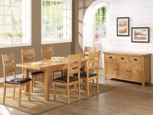 Somerset 4x3 Extension Dining Table-272