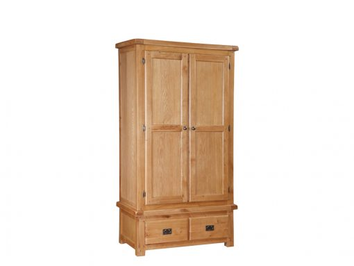Somerset Oak 2 Door Robe