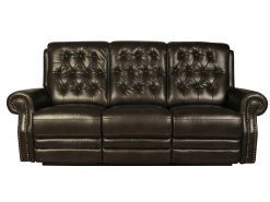 Ashbourne Buffalo Brown 3 Seater Recliner Sofa-0