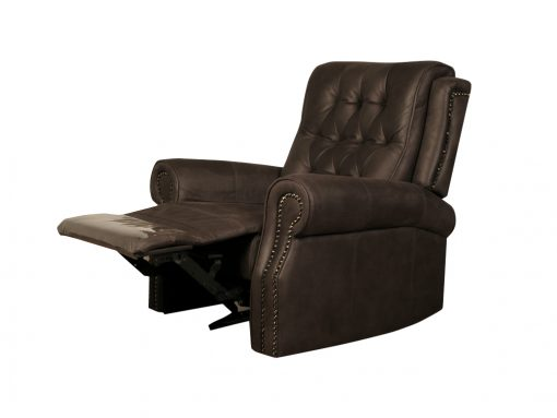 Ashbourne Buffalo Brown 3 Seater Recliner Sofa-2110