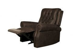 Ashbourne Chesterfield Brown Recliner Chair-0