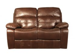 Jacky Brown 2 Seater Recliner Sofa-0