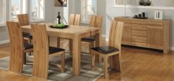 Ardmore Solid Wooden 5x3 Dining Set-0