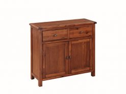 Hartford Acacia Solid 2 Door Sideboard-0