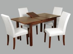 Hartford Acacia 4' Extension Dining Set-0
