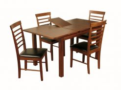 Hartford Acacia 4' Extension Dining Set-2373