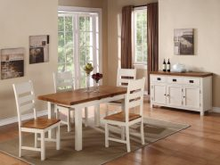 Heritage Solid Oak 4x3 Extension Dining Set-0