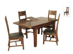 Roscrea 4x3 Extension Dining Set-0