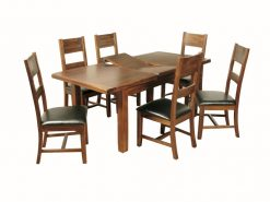 Roscrea 5x3 Extension Dining Set-0