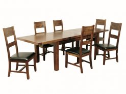 Roscrea Double Leaf 6x3 Extension Dining Set-0