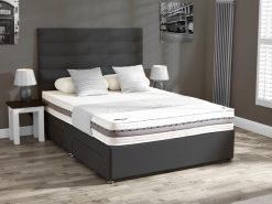 Mammoth Performance 220 Firm Double Divan Bed 1