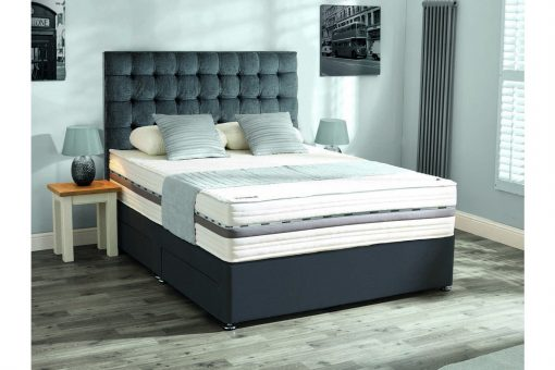 Mammoth Beds PerformancePocket 3000 Kingsize Divan Bed