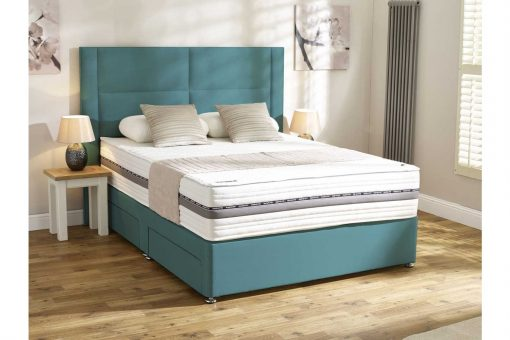 Mammoth Beds Performance Pocket 2000 Kingsize Divan Bed-0