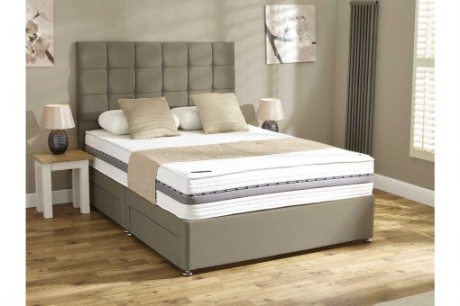Mammoth Performance Sky 270 Soft Small Double Divan Bed 14