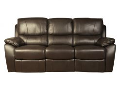 Swindon Brown 3 Seater Recliner