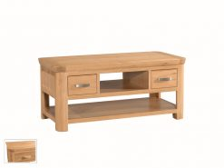 Treviso Solid Oak Coffee Table