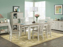 Treviso Painted Oak Dining Set