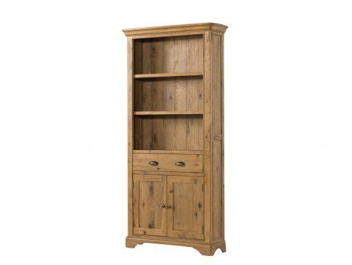 Annaghmore Lyon French Oak Large Bookcase