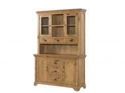 Annaghmore Lyon French Oak 3 Door Buffet Hutch