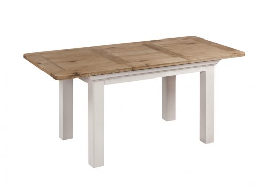 Annaghmore Lyon Stone Painted Oak 120cm Extension Table