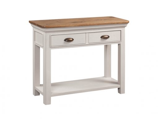 Annaghmore Lyon Stone Painted 2 Drawer Console Table
