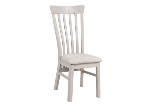 Annaghmore Lyon Stone Painted Oak Dining Chair