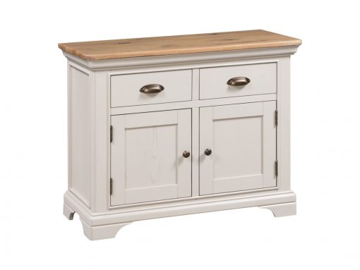 Annaghmore Lyon Stone Painted Small Sideboard