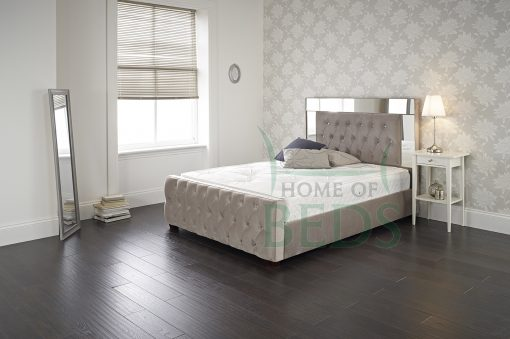 Home Of Beds Reflection Small Double Fabric Bed Frame