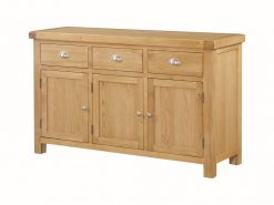 Annaghmore Newbridge Oak 3 Door Sideboard