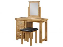 Newbridge Dressing Table & Stool & Vanity Mirror