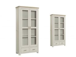 Annaghmore Treviso Painted Oak Display Cabinet