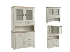 Annaghmore Treviso Painted Oak Small Buffet Hutch