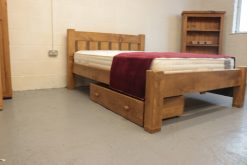 chunk Solid Reclaimed Wooden Bed Frame