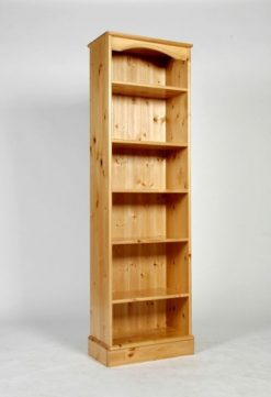 The Really Solid Furniture Company | Napoli Tall Narrow Bookcase