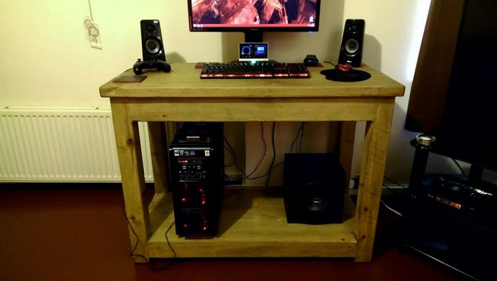 The Really Solid Furniture Company - Custom PC Gaming Desk