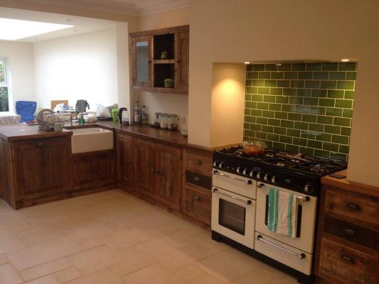 The Really Solid Furniture Company - Solid Wooden Rustic Fitted Kitchen