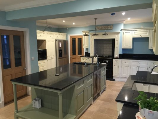 The Really Solid Furniture Company - Rustic Bespoke Fitted Kitchen