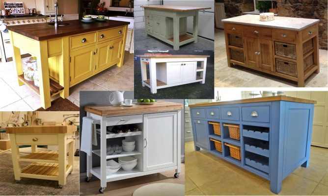 The Really Solid Furniture Company - Solid Wooden Kitchen Island Units