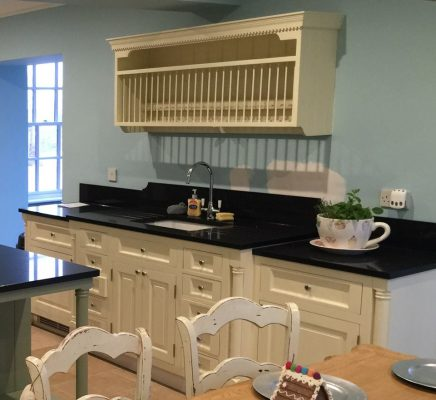 The Really Solid Furniture Company - Farrow & Ball Painted Bespoke Fitted Kitchen