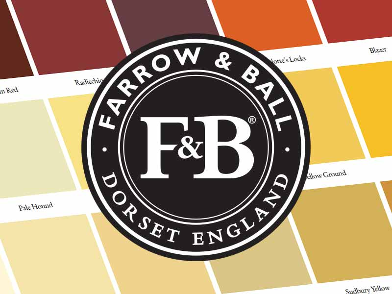 The Really Solid Furniture Company - Farrow and Ball Paint Colours 2018
