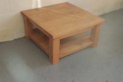 Chicago Rustic Solid Wooden Coffee Table