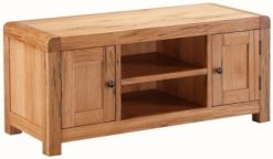 Annaghmore Capri Rustic Oak Large Tv Unit