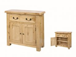 Annaghmore Clonmel Light Oak 2 Door Compact Sideboard