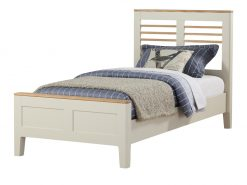 Annaghmore Dunmore Painted Oak Single Bed Frame