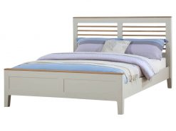 Annaghmore Dunmore Painted Oak Kingsize Bed Frame