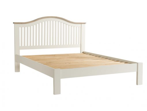 Santorini Painted Solid Pine Kingsize Bed Frame