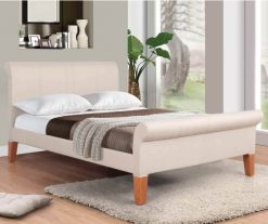Annaghmore Vancouver Beige Kingsize Bed